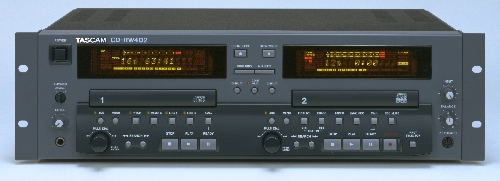 Tascam CD-RW402 and other professional recording products by TASCAM