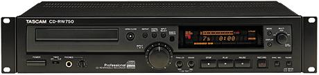 TASCAM CD-RW750 available from Overdrive Productions