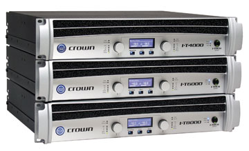 Crown Audio I-Tech Stack