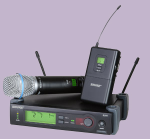 Shure SLX Wireless System available from ODP