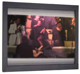 Flat Wall Mounted Video Screen